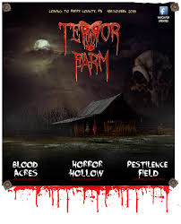 Best Halloween Attractions In Nj by Terror Farm Coming Halloween 2015 Haunted Attraction In Perry