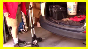 New Lightweight Hand Truck - YouTube Tttelescopiclwhandtruckxjpg Amazoncom Folding Luggage Carrier Wheeled Cart Trolley Suitcase Platform Hand Truck Carts Harper Trucks Lweight 400 Lb Capacity Nylon Convertible Cknroller Multicart Rmh1 Minihandtruck 10 Best Alinum With Reviews 2017 Research Core Boson 110 Lbs For Transport Product Focus Youtube 600 Loop Handle Truckbktak19 The Home Sydney Trolleys At99dl Shop Dollies At Lowescom