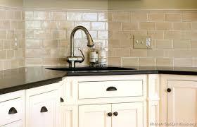 Kitchen Backsplash Ideas For Dark Cabinets by Subway Tile Backsplash Ideas With Dark Cabinets Kitchen Lowes Home