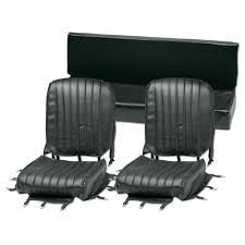 siege mehari seat mehari black 2 front 1 rear