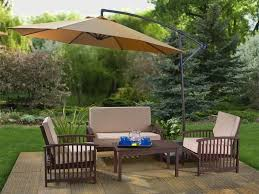 Courtyard Creations Patio Table by Patio 58 Yellow Patio Umbrellas Walmart With Four Chair And