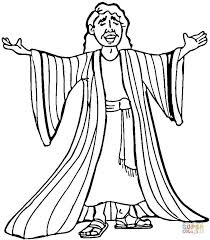 Joseph Many Colored Coat Coloring Page