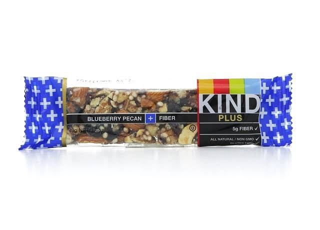 Kind Plus Fiber Bar - Blueberry Pecan, x12