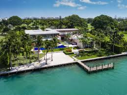 100 Modern Homes In Miami Mansion Sets Realestate Record With 50 Million Sale