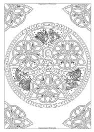 Art Therapy Celtic 100 Designs Colouring In And Relaxation Michel Solliec