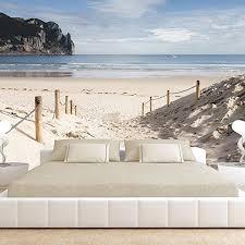 3d design foto vlies tapete strand meer natur 350 x