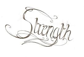 Strength Tattoo Design Rough By Bunbunsupreme