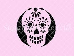 Day Of The Dead Pumpkin Carving Patterns by 100 Sugar Skull Pumpkin Stencils Old Sugar Skull By