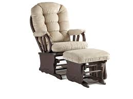 Best Home Furnishings Bedazzle Gliding Rocker And Ottoman ...
