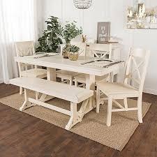 Kirklands Dining Chair Cushions by Martina Antique White 7 Pc Dining Set Kirklands