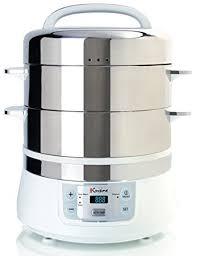 steamer cuisine amazon com cuisine fs2500 electric food steamer white