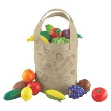 learning resources new sprouts fresh picked fruit u0026 veggie tote