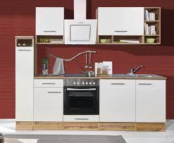 respekta küchenzeile lübeck mit e geräten breite 250 cm kaufen otto