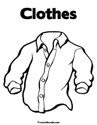 Epic Clothes Coloring Page 36 For Your Free Kids With