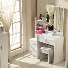 Vanity Table With Lights Around Mirror by Dressing Table With Mirror And Stool Cheap Design Ideas Interior