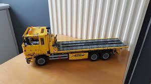 LEGO MOC-2345 42009 Alternate: Flatbed Tow Truck (Technic 2014 ...