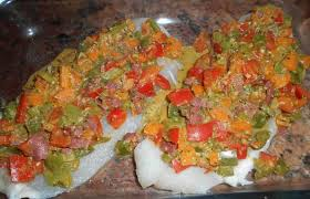 cuisiner merlan filet de merlan à la provençale recette dukan pl par paella30