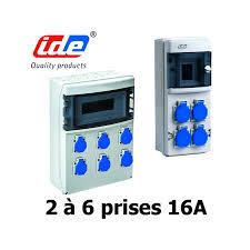 coffret electrique exterieur etanche coffret p17 et coffret de prises étanches 16a 32a et prise 380v