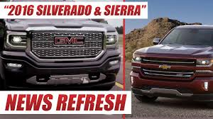2016 Chevrolet Silverado And GMC Sierra : Do You Like GMs New ... Gmc Comparison 2018 Sierra Vs Silverado Medlin Buick F150 Linwood Chevrolet Gmc Denali Vs Chevy High Country Car News And 2017 Ltz Vs Slt Semilux Shdown 2500hd 2015 Overview Cargurus Compare 1500 Lowe Syracuse Ny Bill Rapp Ram Trucks Colorado Z71 Canyon All Terrain Gm Reveals New Front End Design For Hd