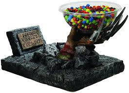 Halloween Candy Dish With Lid by Amazon Com Nightmare On Elm Street Freddy Candy Bowl Holder Toys