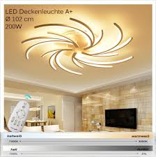 2042white 5wj led deckenleuchte mit fernbedienung lichtfarbe helligkeit einstellbar acryl schirm