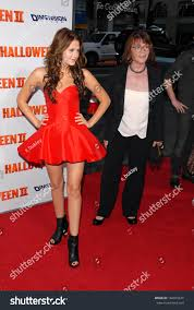 Scout Taylor Compton Halloween 2 by Scout Taylorcompton Margot Kidder Los Angeles Stock Photo