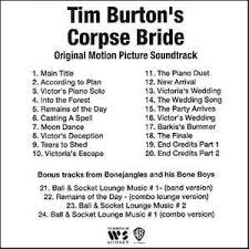 Corpse Bride Tears To Shed by Danny Elfman Tim Burton U0027s Corpse Bride Original Motion Picture