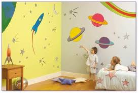 Wall Painting For Kids Room Brilliant Childrens Bedroom Ideas