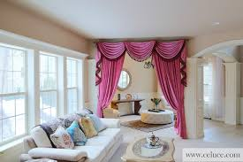 Swag Curtains For Living Room by Swag Curtains For Living Room Great Curtain Valances For Living