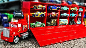 Disney Pixar Cars Mack Truck Hauler Disney Cars 3 Lightning Mcqueen ... Disney Pixar Cars Mack Truck Carrier Hauler 18 Storage Carrying Mack Truck In Trouble With Train Cars For Kids Disneypixar Playset Walmartcom 3 Big 24 Diecasts Tomica Lightning Mcqueen Tomica Rescuego Takara Tomy Disneypixcars Amazoncom Large Scale Toys Blackgold Scale Memorial Cecil Spurlocks Son And Familys Trailer Jada Diecast 124 Cstruction Videos For Mcqueen Garage