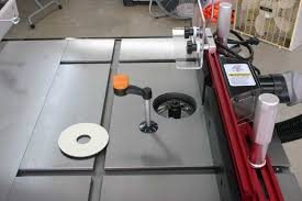 Sawstop Cabinet Saw Dimensions by Cast Iron Router Table Extension For A Table Saw By