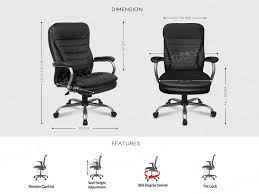 Ergodynamic SUMO Faux Leather High Back Office Chair, Executive Chair, Desk  Chair (Black) Leather Tufted Office Chair Home Design Ideas Mcs 444 Executive Office Chair Specification Amazonbasics Highback Brown New Big Commander Professional Worksmart Bonded Black Deco Meeting Libra Mobili Fnitureexecutive Dimitri Hot Item Metal For Fniture