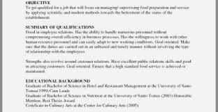 50 New Sample Resume For Restaurant Crew