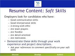 Soft Skills Examples For Resume Of Resumes