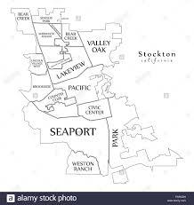 Modern City Map