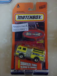 100 Matchbox Fire Trucks Real Talkin Rare Number Engine Car Model Toy Free