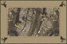 Realtree Outfitters Floor Mats by Hardwoods Realtree Bordered Tree Leaves Camouflage Area Rug