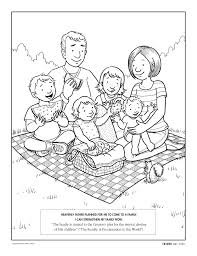 Familia Coloring Page Unfortunately I Had To Cover Up The Christian References