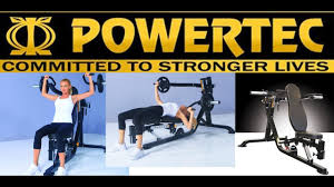 POWERTEC FITNESS MULTI PRESS MULTIPRESS LEVERAGE WORKBENCH POWER