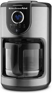 Carafe With Stainless Steel Handle Programmable Coffeemaker Kitchenaid 12 Cup Coffee Maker Kitchen Ideas