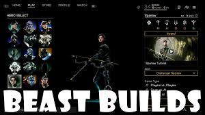 Paragon Beast Builds Sparrow 1000 DMG SUCCUBUS SNIPER Deck