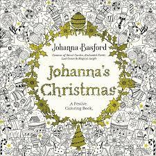 Johannas Christmas A Festive Coloring Book For Adults