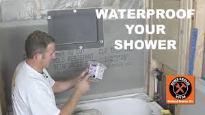 how to waterproof a shower 3 awesome methods by home repair