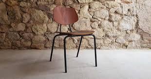 vintage stühle aus teakholz und stahlrohr mid century stil 1 v 6