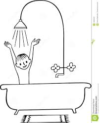 Bathroom Clip Art Black And White
