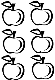 See 6 Best Images Of Free Apple Printables Outline Printable Small Template Coloring Pages