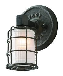 troy lighting b3841 mercantile 6 inch wide wall sconce capitol