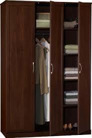 wardrobe armoires ameriwood 7211207by three door wardrobe 48