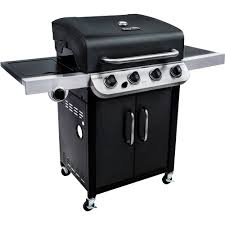 Char Broil Patio Bistro Electric Grill Manual by Char Broil 4 Burner Gas Grill All Black Walmart Com