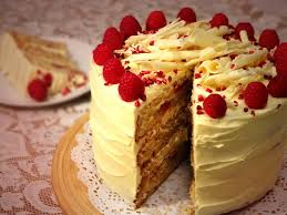 Rosie Bakes It Raspberry & White Chocolate Layer Cake